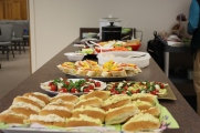 Gotta have food! Open House, April 2